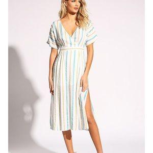 Midi stripped dress